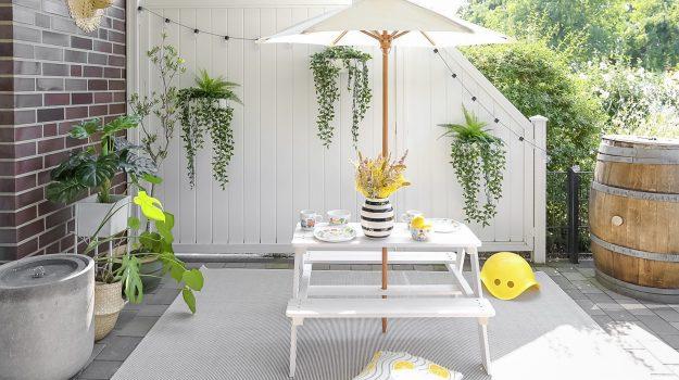 Unser Garten/Terrassen Makeover – Vorher/Nachher inklusive ...